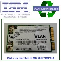 ISM - Modulo Intel WM3945ABG MOW2 54Mbps Wireless-G Mini PCI Express