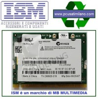 ISM - Intel Wireless Mini PCI Card 2200Bg 802.11b/g Intel PRO, 27K9934 (802.11b/g Intel PRO)