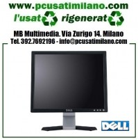 "Lotto/Stock 5x Monitor LCD DELL 17"" - Vari modelli E170S, E178FP, E107FP, etc. - 4:3"