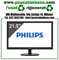 "(01.20) Monitor Led Philips 223V 22"" Full HD VGA"