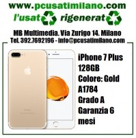 iPhone 7 Plus 128GB - Gold - Garanzia 6 MESI A1784