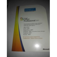 Licenza Microsoft Office Professional 2007