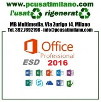 Licenza ESD (digitale) Microsoft Office 2016 Professional