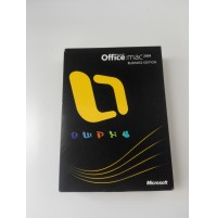 LICENZA RETAIL MICROSOFT OFFICE MAC 2008 Business Edition