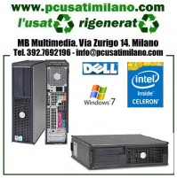 Lotto/Stock 5x Dell Optiplex 330 - Intel Celeron Inside 420/DUAL CORE E2180 - Ram 2GB - HD 250GB - DVDRW - Windows 7 Professional