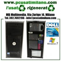 (09.19) Desktop Dell Optiplex 780 - Intel Core 2 Duo E7500 - Ram 4GB - HD 250GB - DVDRW - Windows 7 Pro