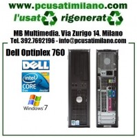 Desktop Dell Optiplex 760 - Intel Core 2 Duo E8400 - Ram 4GB - HD 250GB - DVDRW - Windows 7 Professional