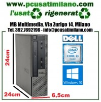(02.21) Desktop Dell Optiplex 790 USFF - Intel Core i3 2100 3.1GHZ - Ram 8GB - HD 120GB SSD - Windows 10 Pro