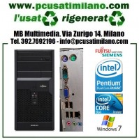 (09.19) Minitower Fujitsu Esprimo P2560 - Intel Dual Core/Core 2 Duo - Ram 4GB - HD 500GB - DVDRW - Windows 7