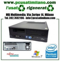 Desktop Fujitsu Siemens E3521 - Intel Dual Core E6600 - Ram 4GB - HD 250GB - DVDRW - Windows 7 Pro