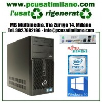 (09.19) Minitower Fujitsu Siemens Esprimo P400 - Intel Core i5-2400 - Ram 4GB - HD 500GB - Windows 10 Professional