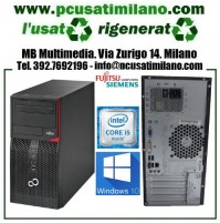 (01.21) Minitower Fujitsu Esprimo P420 E85P Intel Core i3 4150 - Ram 8GB - HD SSD 120GB + 1TB - Windows 10 Pro