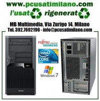 (09.19) Minitower Fujitsu Esprimo P7936 - Intel Core 2 Duo E7600 - Ram 4GB - HD 320GB - DVDRW - Windows 10 Pro
