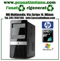 (10.19) Minitower HP Pro 3125MT - AMD Athlon II X2 220 - Ram 4GB - HD 320GB - DVDRW - Windows 7