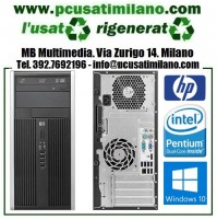 Desktop HP Compaq 6000 PRO MT - Intel Dual Core E5400 - Ram 4GB - HD 320GB - Windows 10 Professional