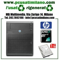 (09.19) Microserver HP Proliant HSTNS-5151 - AMD Athlon II Neo N36L - Ram 1GB - HD 250GB + 1TB