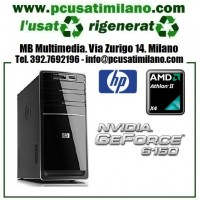 Minitower HP P6312IT - AMD Athlon II X4 630 - Ram 4GB - HD 500GB - DVDRW - Windows 7 Home Premium