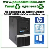 (09.19) Minitower HP Pro 3130MT - Intel Core i3 550 - Ram 4GB - DVDRW - HD 500GB - W10 Pro 64 Bit