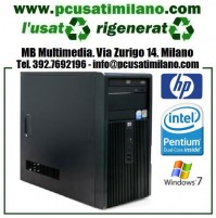 Minitower Hp Compaq DX2300 INTEL DUAL CORE E2160 1.80 GHz 2 GB RAM DDR II HDD 160 GB Windows 7