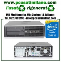 Desktop HP Compaq 8200 Elite SFF - Intel Core i3-2100 - Ram 4GB - HD 250GB - DVDRom - Windows 7 Professional