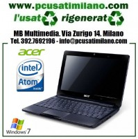 "Netbook Acer Aspire One D270 - Intel Atom N2800 - Ram 2GB - HD 320GB - Led 10.1"" con WEBCAM - HDMI - Windows 7"