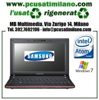 "Netbook Samsung N145 Plus - Intel Atom N455 - Ram 2GB - HD 250GB - 10.1"" led con WEBCAM - Windows 7"