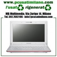 "Netbook Samsung N150 - Intel Atom N450 - Ram 1GB - HD 250GB - 10.1"" con WEBCAM - Windows 7"