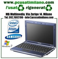 "Netbook Samsung NP-NC10 - Intel Atom N270 - Ram 1GB - HD 160GB - led 10.1"" con WEBCAM- Windows 7"