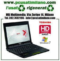 "Netbook Toshiba NB550D-105 - AMD-C50 - Ram 1GB - HDMI - HD 250GB - 10.1"" con WEBCAM - Windows 7"