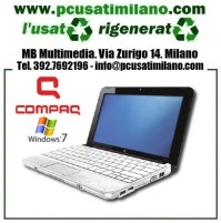 "Netbook HP Compaq Mini 110 - Intel Atom N270 - Ram 1GB - HD 250GB - Display 10.1"" con webcam - Windows 7"
