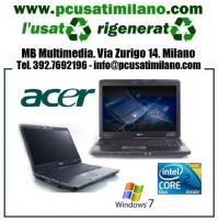 "Notebook Acer TravelMate 6593 - Intel Core 2 Duo T6670 - Ram 4GB - HD 250GB - 15.4"" con WEBCAM - Windows 7 Professional"