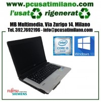 "Notebook Fujitsu Siemens Lifebook S710 - Intel i5-520M - Ram 4GB - HD 160GB - 14"" - Windows 7 Professional"