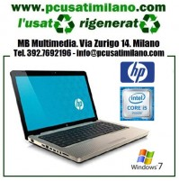 "Notebook HP G62-b07SL - Intel Core i5 460M - Ram 4GB - HD 320GB - Led 15.6"" con Webcam - Windows 7"