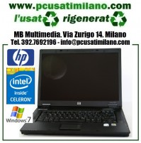 "Notebook HP NX7400 - Intel Celeron M410 - Ram 2GB - HD 60GB - DVDRW - LCD 15.4"" - Windows 7 H.P."