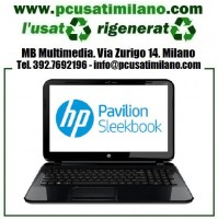 "Notebook HP Pavilion 15-B027EL - Intel Pentium 987 - Ram 6GB - HD 500GB - HDMI - 15.6"" led con WEBCAM - Windows 10 Professional"