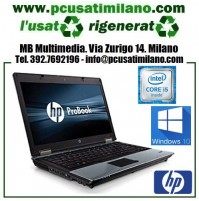 "(09.19) Notebook HP Probook 6450B - Intel Core i5 M450 - Ram 4GB - HD 320GB s-Ata - 14"" 1366 x 768 - Windows 10 Pro"
