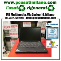 "Notebook Lenovo T410 - Intel Core i5-M460 - Ram 4GB - HD 320GB - DVDRW - 14"" - Windows 7 Professional"