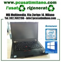 "Notebook Lenovo T420 - Intel Core i5-2520M - Ram 4 GB - HD 320GB - DVDRW - 14"" con webcam - Windows 7 Professional"