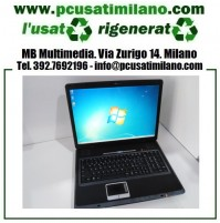 "Notebook MSI-1719 - Intel Core 2 Duo T8300 - Ram 4GB - HD 250GB - Display 17"" con WEBCAM - HDMI - Windows 7"
