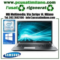 "Notebook Samsung NP350ESC - Intel Core i3 3110M - Ram 4GB - HD 500GB - 15.6"" con WEBCAM - Windows 10"