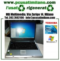 Notebook Toshiba Satellite A100 - Intel Core 2 T5200 - Ram 2GB - HD 120GB - DVDRW - Windows 7