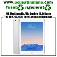 "Apple iPad Air 2 16GB Argento WIFI Cellular 4GB Retina 9.7"" - O.S. 13.1.2 - Garanzia 6 mesi"